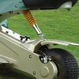 Front and rear shock absorbers